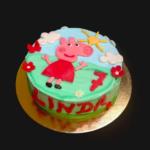 Torta personalizzata di compleanno Peppa Pig