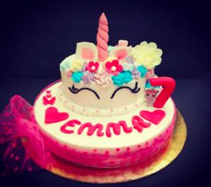 Unicorn cake: Torta Gelato