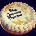 Torta Gelato Prima comunione