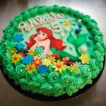 Torta Compleanno La Sirenetta